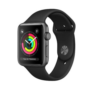 Apple Watch Series 3 42mm GPS Space Gray (kasutatud, seisukord A)