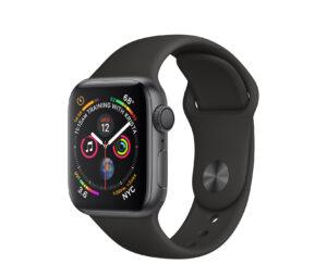Apple Watch Series 4 40mm, Space Gray (kasutatud, seisukord A)