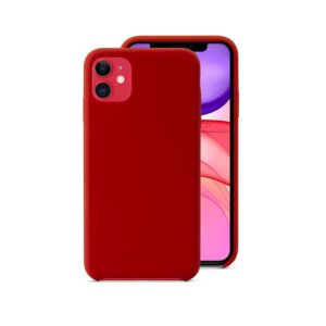 EPICO SILICONE CASE for iPhone 11 - red