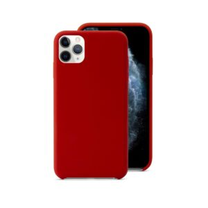EPICO SILICONE CASE for iPhone 11 Pro Max - red