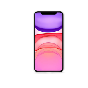 EPICO SILICONE CASE for iPhone XR - transparent white