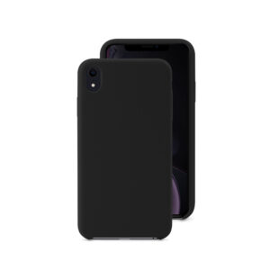 EPICO SILICONE CASE for iPhone XR - black