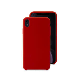 EPICO SILICONE CASE for iPhone XR - red