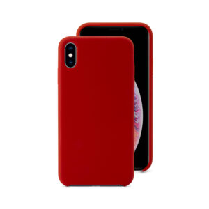 EPICO SILICONE CASE for iPhone X/XS - red