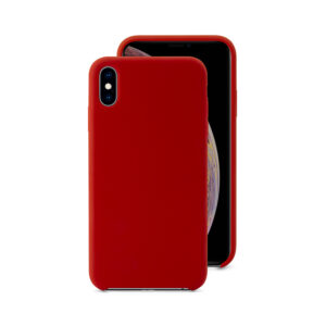 EPICO SILICONE CASE for iPhone XS Max - red