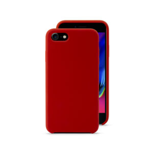 EPICO SILICONE CASE for iPhone 7/8/SE (2.gen) - red
