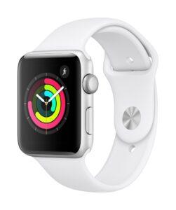 Apple Watch Series 3 42mm GPS Silver (kasutatud, seisukord B)