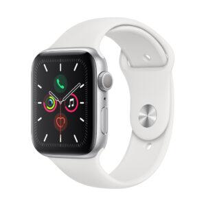 Apple Watch Series 5 44mm GPS Aluminium, silver (подержанный, состояние B)