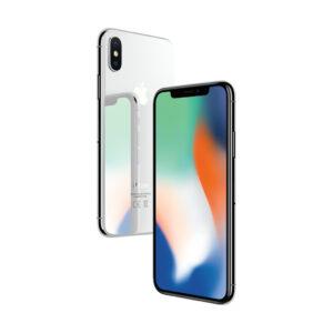 iPhone X 64GB Silver (kasutatud, seisukord B)