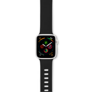 EPICO SILICONE BAND for Apple Watch 42/44 mm - black