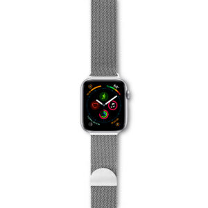 EPICO MILANESE BAND for Apple Watch 42/44 mm - silver