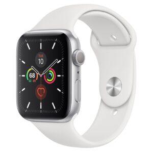 Apple Watch Series 5 44mm GPS Aluminium, silver (подержанный, состояние A)