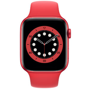 Apple Watch Series 6 40mm GPS Aluminum, Red (подержанный, состояние A)