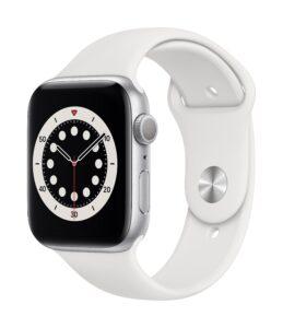 Apple Watch Series 6 44mm GPS Aluminum, Silver (подержанный, состояние A)