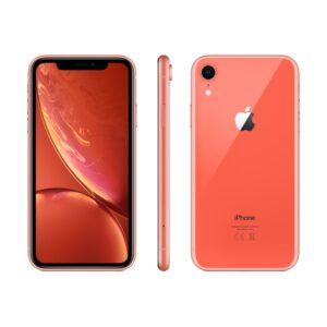 iPhone XR 128GB Coral (kasutatud, seisukord B)