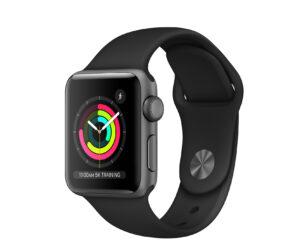 Apple Watch Series 3 38mm GPS, Space Gray (подержанный, состояние A)